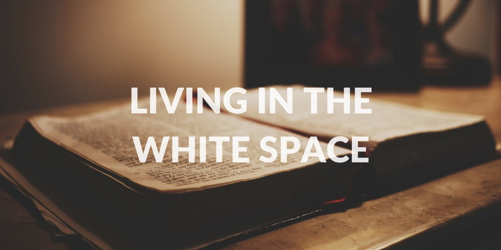 Why Living in the White Space is So Hard
