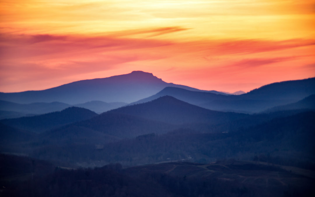 Mt. Jefferson Sunset